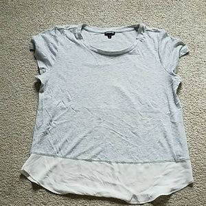 Express two fabric tee